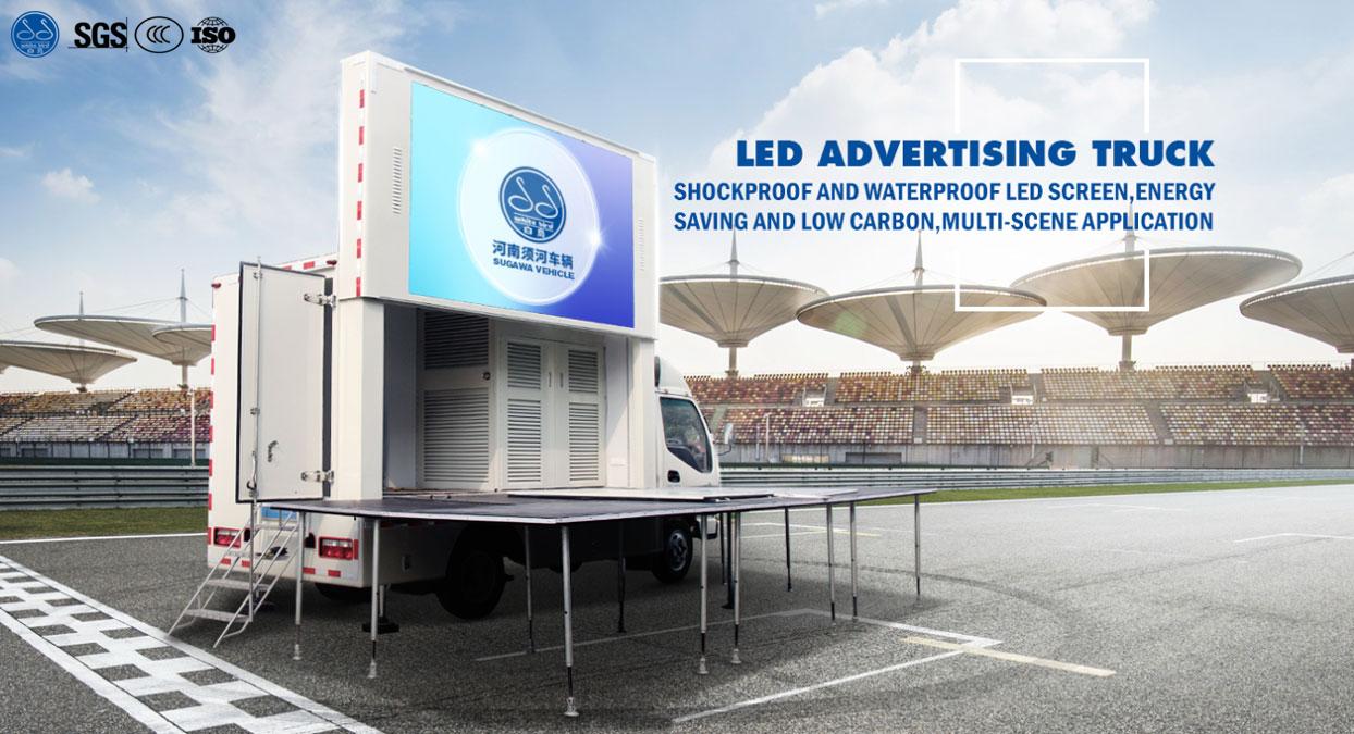 Mobile Billboard Truck for Sale