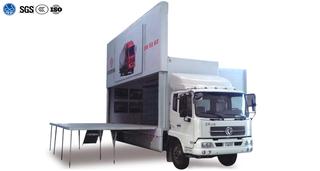 Single Deck Expanding Exhibition Truck