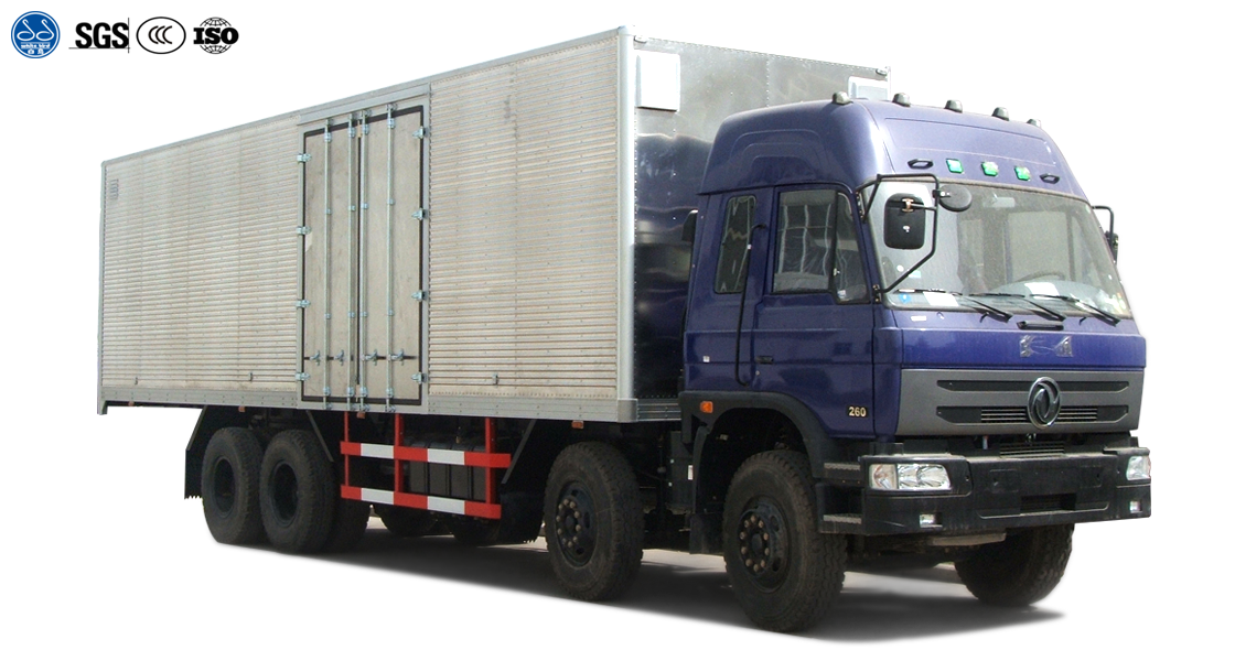 Aluminum Body Truck