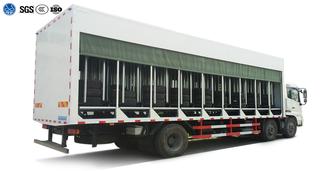 Tire Transportation Truck