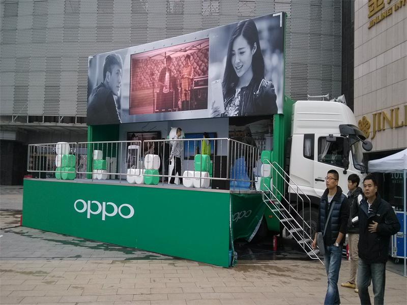 mobile stage truck china