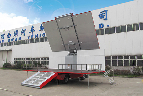 mobile stage truck price