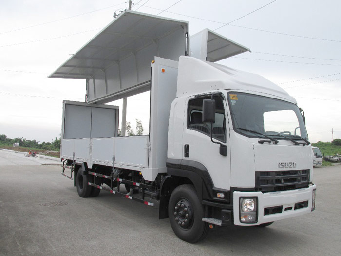 What are the Characteristics of Wing Van Truck for Sale?