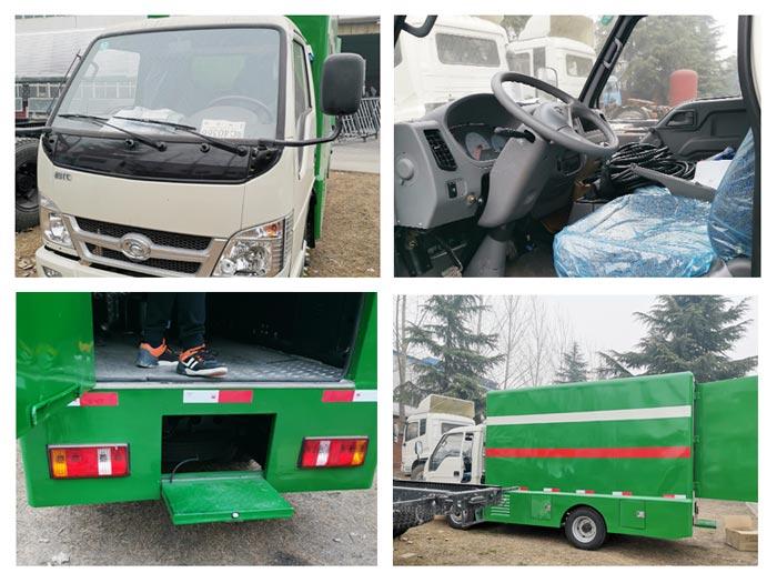 mobile led advertising truck