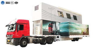 Double Deck Exhibition Semi Trailer